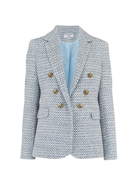 HELENE BERMAN - Carine Jacket in Light Blue