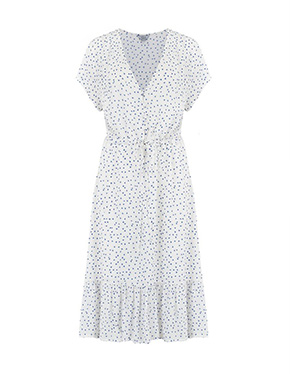 RAILS - Kiki Dress in White Wisteria