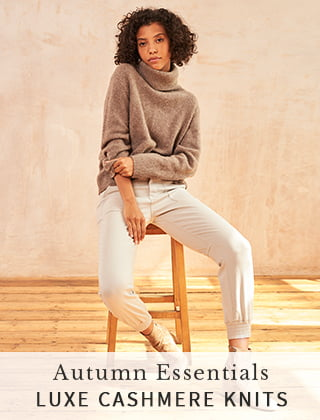 Autumn Essentials - Luxe Cashmere Knits