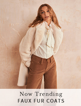 Now Trending - Faux Fur Coats