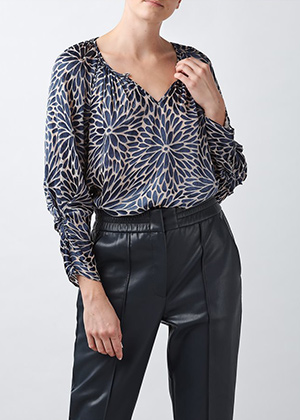Rebecca Taylor - Autumn Bloom Blouse