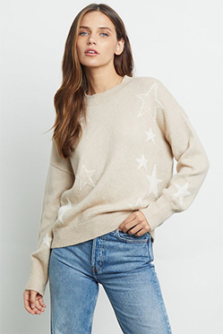RAILS - Kana Stars Jumper In Camel