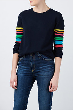 JUMPER 1234 - Reboot Rainbow Jumper In Navy