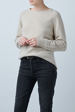MADELEINE THOMPSON - Sandra Jumper In Oatmeal