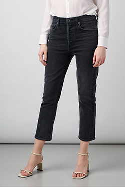 AGOLDE - Riley Straight Jean In Panoramic