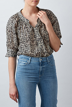 MASSCOB - Elba Blouse In Navy